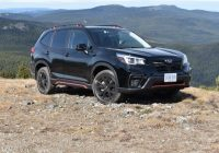 first drive 2020 subaru forester review Subaru Forester Sport Review