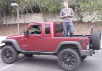 heres why the jeep wrangler pickup is awesome autotrader Jeep Wrangler Pickup Truck