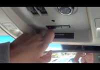 how to program your garage door opener chevrolet buick gmc Gmc Garage Door Opener