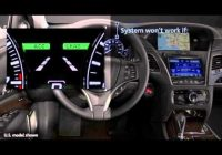 how to use acuras lane keeping assist system lkas Acura Mdx Lane Keep Assist