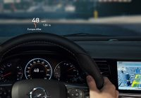 integrated head up display infotainment integration with Mercedes Heads Up Display