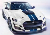 Interesting 2021 hennessey ford mustang shel gt500 gets up to 1200 2021 Ford Mustang Gt Horsepower Redesigns