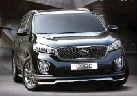 ixion front lip add on kit for kia sorento um 2021 Kia Accessories Sorento