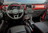 jeep gladiator interior designer chris benjamin invoked Jeep Gladiator Interior