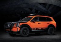kia could leverage the 2021 telluride with sema inspired Kia Telluride Accessories