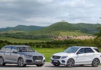 mercedes benz gle meets its newest competitor the audi q7 Mercedes Gle Vs Audi Q7