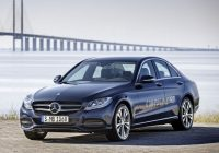 mercedes benz introduces first plug in hybrid c class Mercedes Hybrid C Class