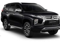 mitsubishi pajero sport facelift launched in thailand 13m Mitsubishi Pajero Sport Facelift