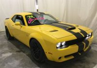 new 2021 dodge challenger srt hellcat rwd 2d coupe Yellow Dodge Challenger