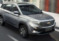 New the new chevrolet captiva enjoying success in south america Chevrolet All New Captiva 2020 Overview