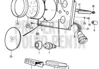 New volvo penta exploded view schematic instrument panel Volvo Md2021 Parts New Concept