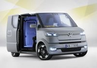 new vw electric fridolin of the future volkswagen Volkswagen Bus Commercial