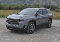 Newest 2021 gmc acadia first drive another at4 joins the lineup 2021 Gmc Acadia Denali Review Exterior