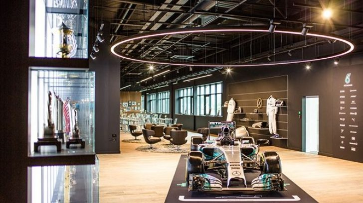 Permalink to Interesting Mercedes F1 Factory Tour 2020
