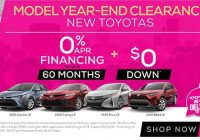 Newest toyota lease specials and financing offers jim hudson toyota Toyota Zero Percent Financing 2021 Interior