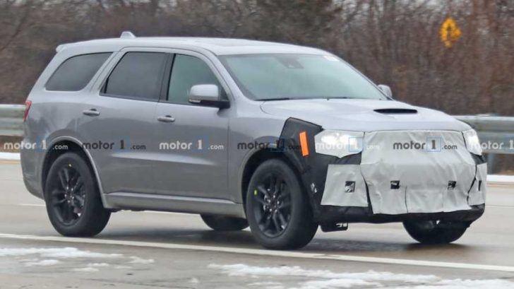 Permalink to Dodge Durango Spy Photos