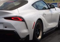 slightly moded 2021 toyota supra has just done a 10 second Toyota Supra Quarter Mile