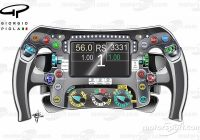 tech analysis the secrets of the mercedes steering wheel Mercedes F1 Steering Wheel