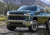 the 2020 chevy silverado hd gets a new look to match its Chevrolet New Silverado