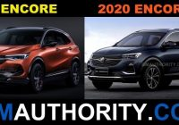 the new buick encore and encore gx dimensional comparison Buick Encore Dimensions
