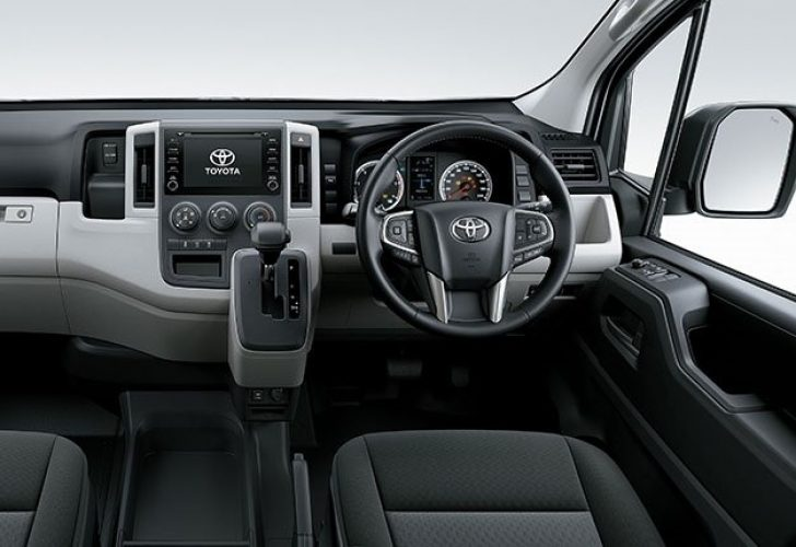 Permalink to New Toyota Quantum Interior