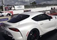 tuned 2021 toyota supra does 114s 14 mile people want to Toyota Supra Quarter Mile