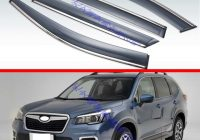 us 3555 21 offfor subaru forester sk 2021 2021 decorate accessories plastic exterior visor vent shades window sun rain guard deflector 4pcs in Subaru Forester Accessories