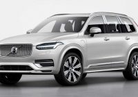 volvo xc90 facelift unveiled with kers for better fuel Volvo Xc90 Model Year 2021