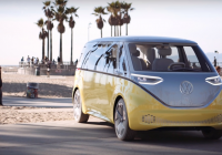vws re imagined electric microbus an early test drive Volkswagen Electric Bus